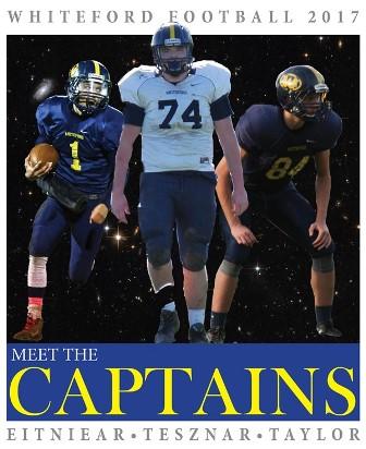 2017 football captains