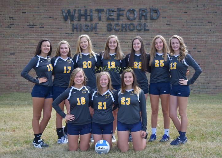 2017 JV Whiteford Volleyball