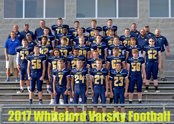 2017 whiteford varsity football