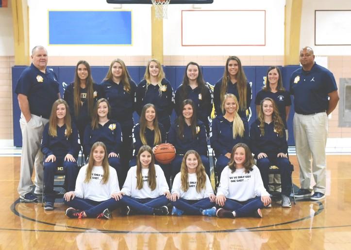 whiteford girls varsity basketball 2017-18