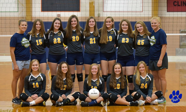 2018 Whiteford JV Volleyball SMALL