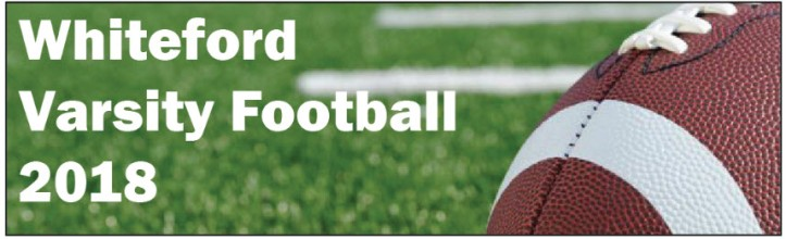 Whiteford 2018 varsity football graphic