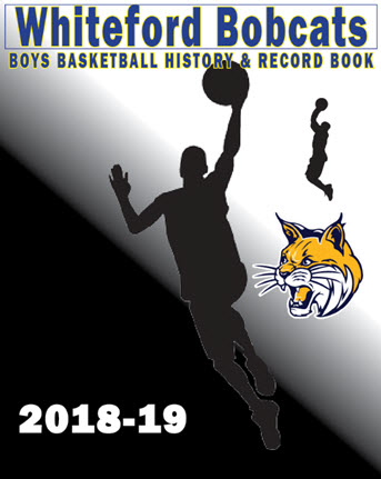 Whiteford Boys BB 2018-19 Record Book cover