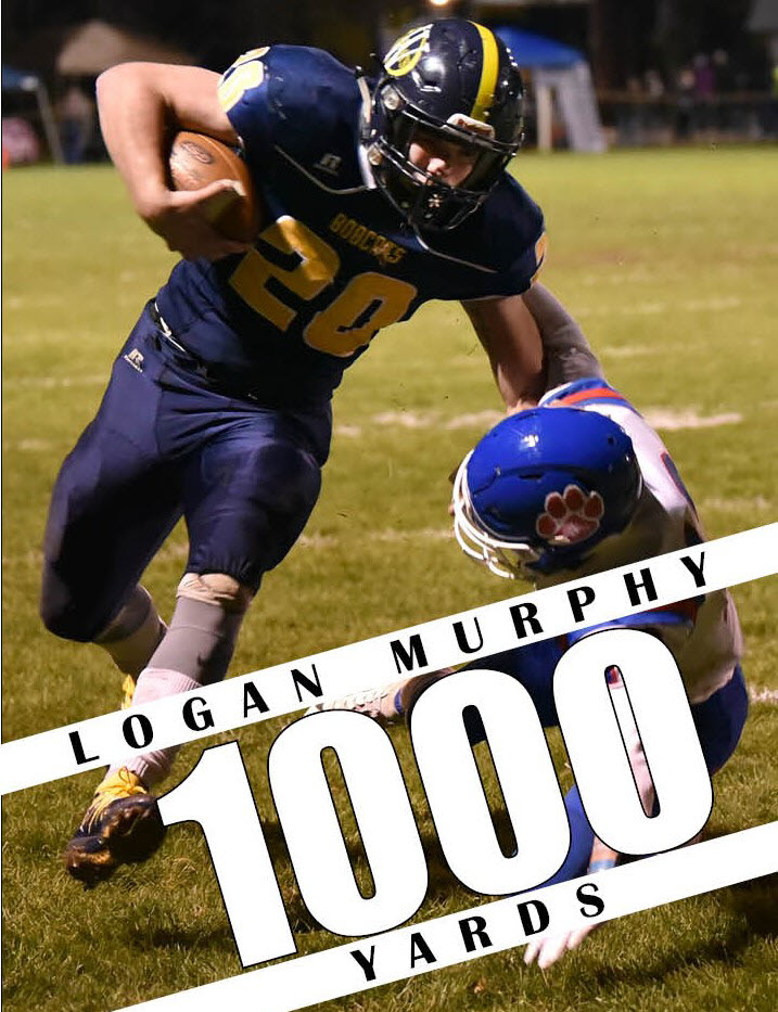 murphy 1000 yards graphic