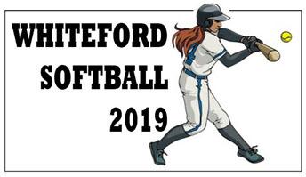 whiteford 2019 softball graphic