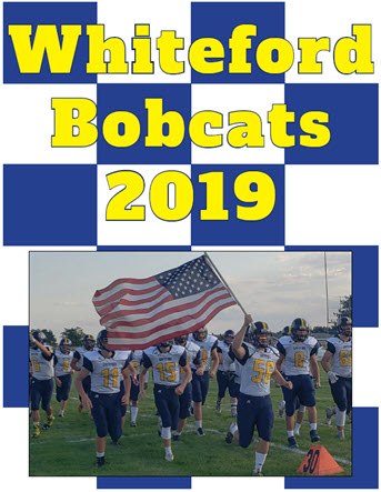 Whiteford 2019 Football Season Review Cover