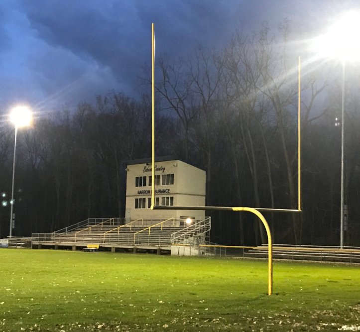 whiteford fb field lights on